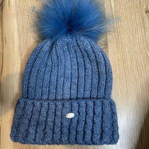 ENJOYFUR fur hat winter fur pompom hat natural fur
